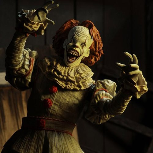 IT Ultimate Well House Pennywise 2017 7-Inch Action Figure