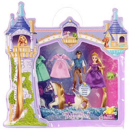 Disney Tangled Deluxe Story Doll Gift Set