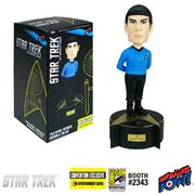Star Trek: The Original Series Talking Spock Bobble Head - Convention Exclusive, Not Mint