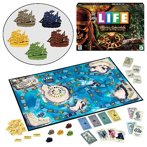 The Game of Life Pirates of the Caribbean 2 Edition