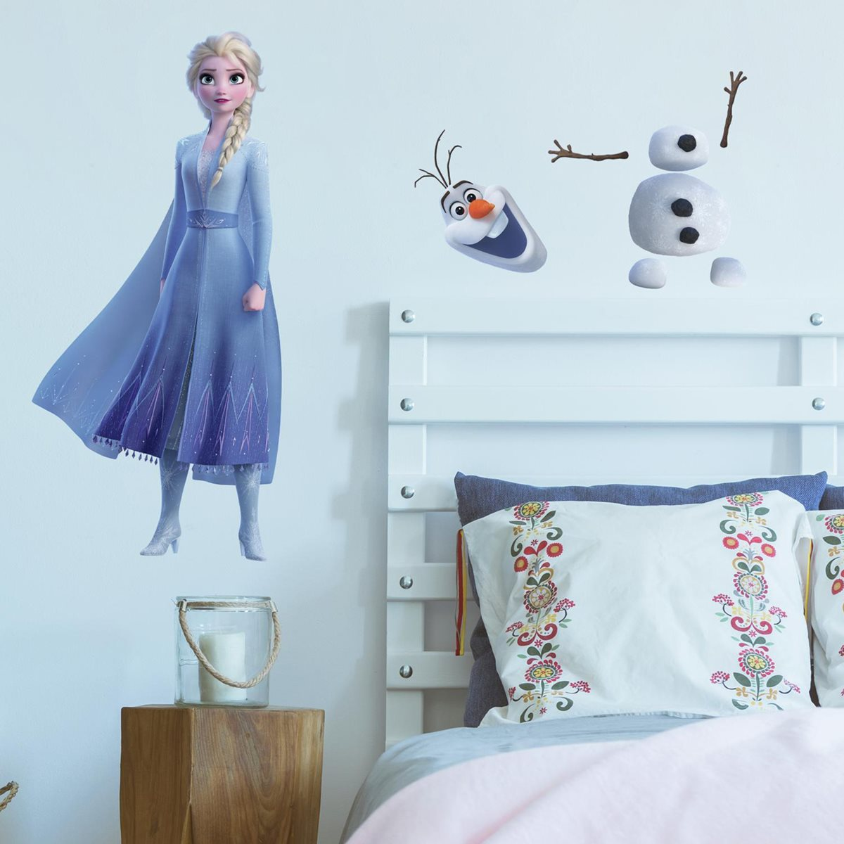 Ice Queen Elsa Ana Olaf wandttattoo Wall Sticker 13 Pcs New XL