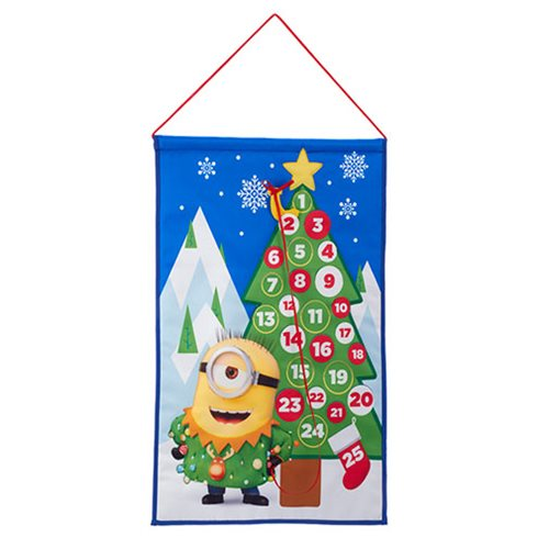Minions 19-Inch Fabric Advent Calendar