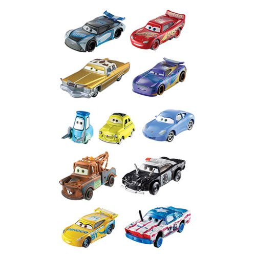 Cars 3 Die-Cast Metal Vehicle Fall Collection 10-Pack