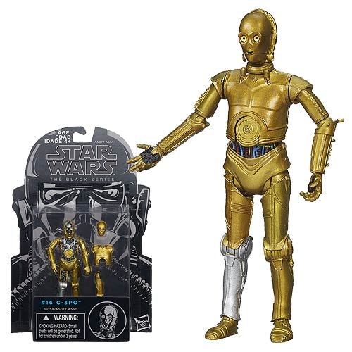 Star Wars The Black Series C-3PO (ESB) 3 3/4-Inch Action Figure