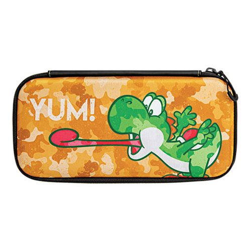 Nintendo Switch Camo Super Mario Bros Yoshi Slim Travel Case