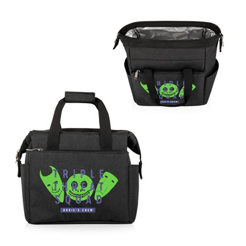 The Nightmare Before Christmas Lock, Shock, Barrel Black On-the-Go Lunch Cooler Bag