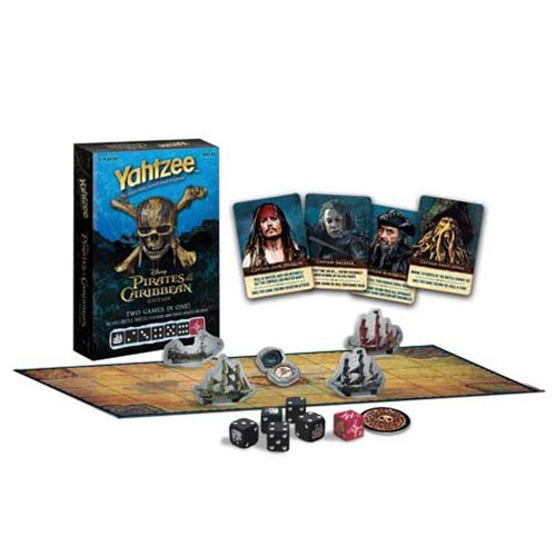 Pirates of the Caribbean: Dead Men Tell No Tales Battle Yahtzee