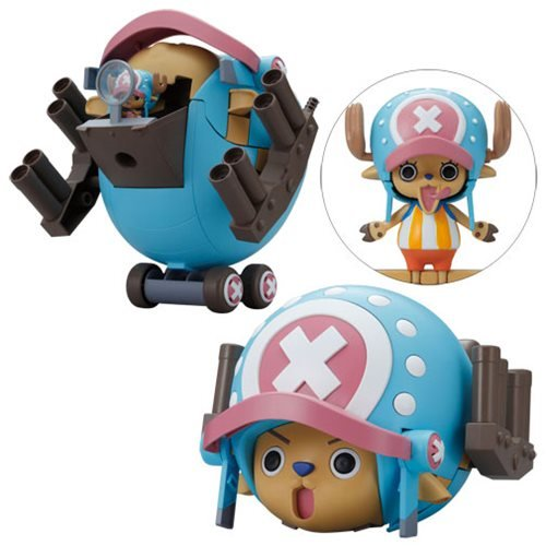 One Piece Chopped Robo Super 1 Guard Fortress Chopper Robo Model Kit