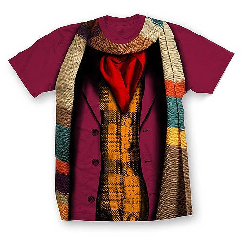 Doctor Who 4th Doctor Costume T-Shirt