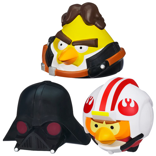Star Wars Angry Birds Power Battlers Figures Wave 1 Set