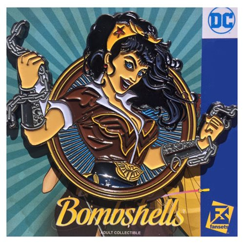 DC Bombshells Wonder Woman Badge Pin