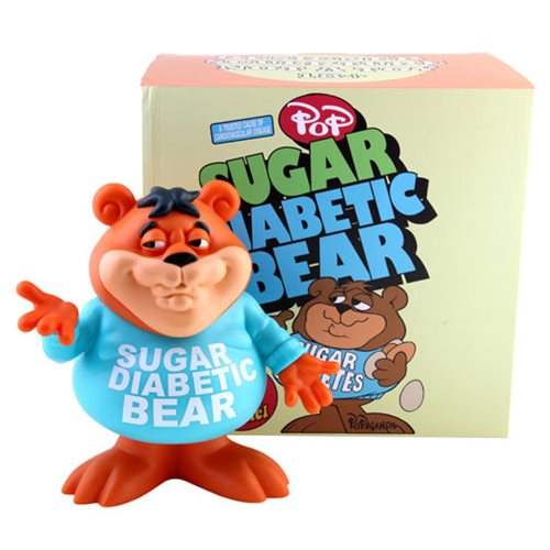 Sugar Diabetic Bear Cereal Killers by Ron English Designer Vinyl Figure