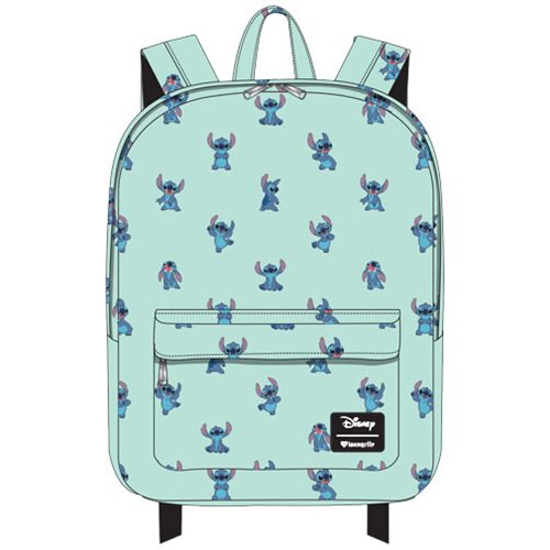 Lilo & Stitch Poses Print Nylon Backpack