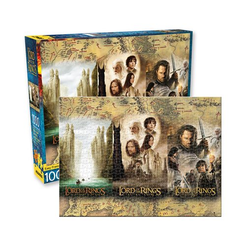 Lord of the Rings Triptych 1000-Piece Puzzle