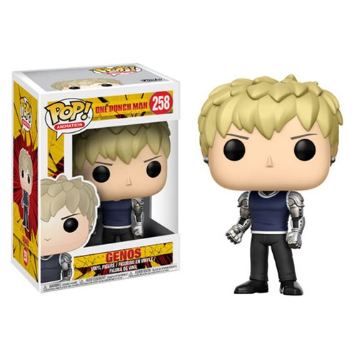 One Punch Man Genos Pop! Vinyl Figure #258