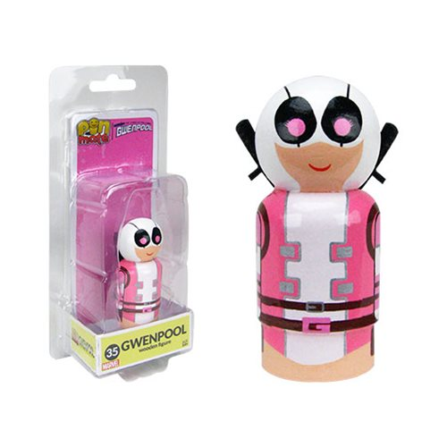 Gwenpool Pin Mate Wooden Figure