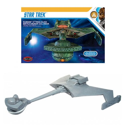 Star Trek Klingon K't'inga 1:350 Scale Model Kit