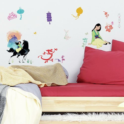 Mulan Peel and Stick Wall Decals