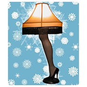 Christmas Story 40-Inch Leg Lamp, Not Mint