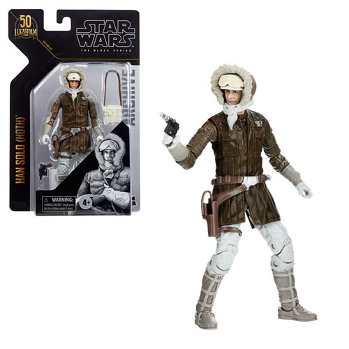 Star Wars The Black Series Archive Han Solo (Hoth) Figure
