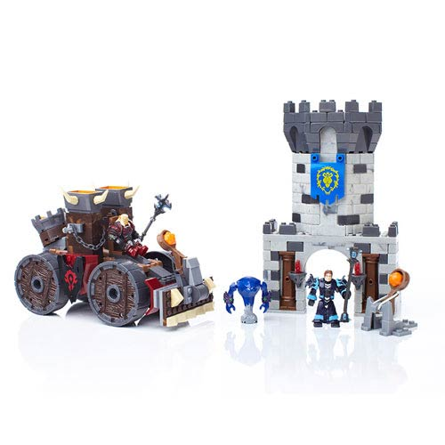 Mega Bloks World of Warcraft Demolisher Attack Vehicle