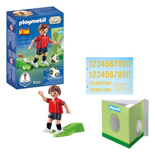 Playmobil 9517 Soccer National Team Player Spain Action Figure