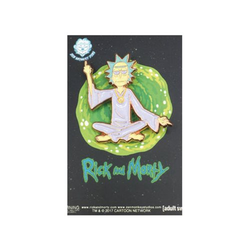 Rick and Morty Spiritual Leader Rick Lapel Pin