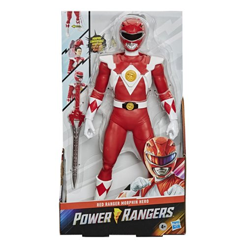 Mighty Morphin Power Rangers Red Ranger Unmasked 12-inch Action Figure