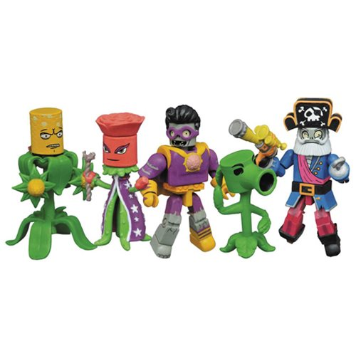 Plants vs. Zombies: Garden Warfare 2 Minimates Box Set