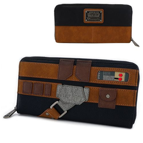 Star Wars Solo Cosplay Zip-Around Wallet