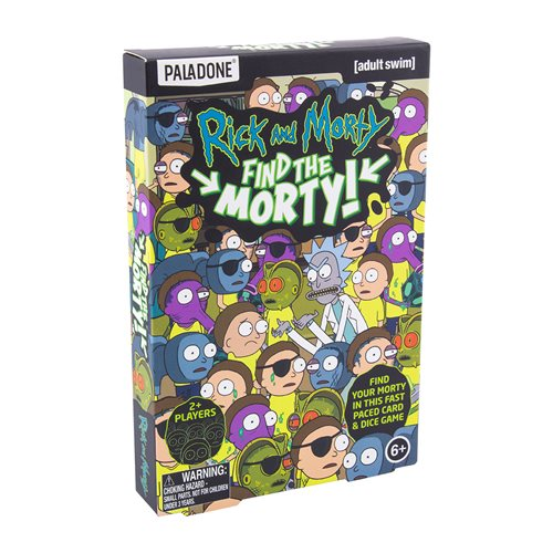 Rick and Morty Find The Morty Game