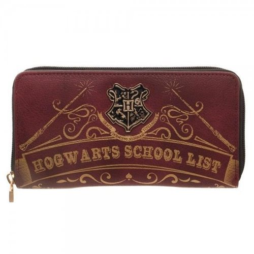 Harry Potter Hogwarts School List Wallet