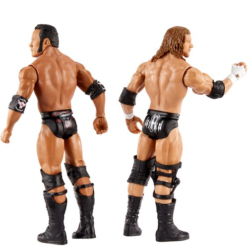 WWE Championship Showdown Series 2 Rock vs Triple H Action Figure 2-Pack