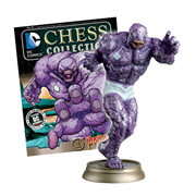 DC Superhero Parasite Black Pawn Chess Piece with Collector Magazine