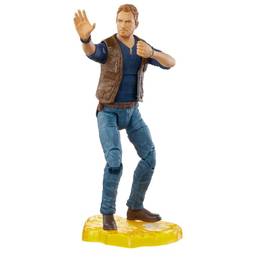 Jurassic World Owen Grady 6-Inch Scale Amber Collection Action Figure