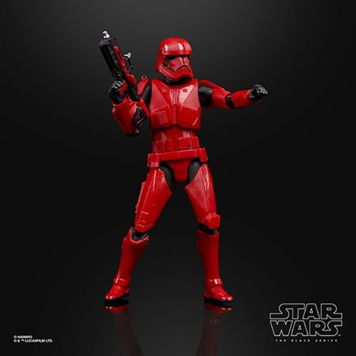 Star Wars: The Rise of Skywalker The Black Series Sith Trooper 6-Inch Action Figure