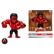 Red Hulk Metals 4-Inch Die-Cast Metal Action Figure
