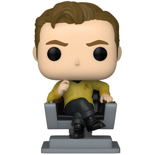 Star Trek: The Original Series Captain Kirk in Chair Pop! Vinyl Figure