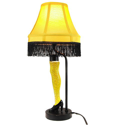 Christmas Story 18-Inch Action Glitter Leg Lamp