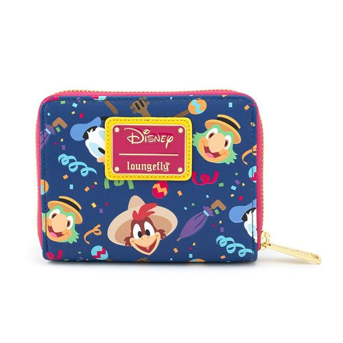 Disney The Three Caballeros Zip-Around Wallet