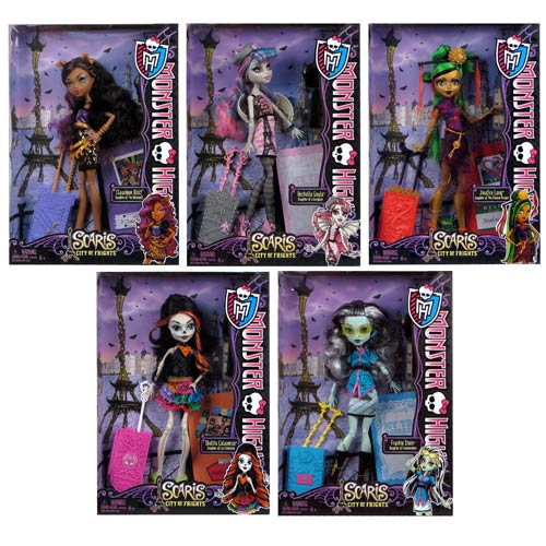 Monster High Scaris Deluxe Travel Dolls Wave 2 Rev. 1 Case