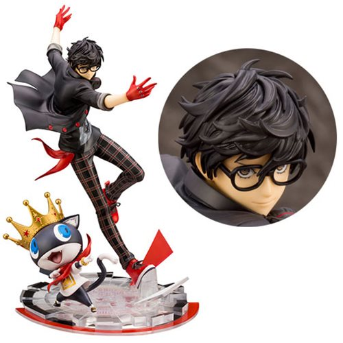 Картинки по запросу Persona 5: Dancing Star Night ArtFX J Statues - 1/8 Scale Hero & Morgana