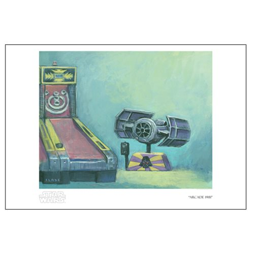 Star Wars Arcade 1981 by Christian Slade Paper Giclee Art Print