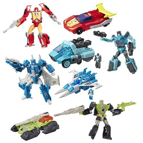 Transformers Generations Titans Return Deluxe Wave 6 Case