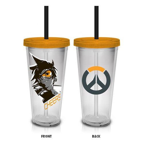 Overwatch Tracer Cheers Travel Cup