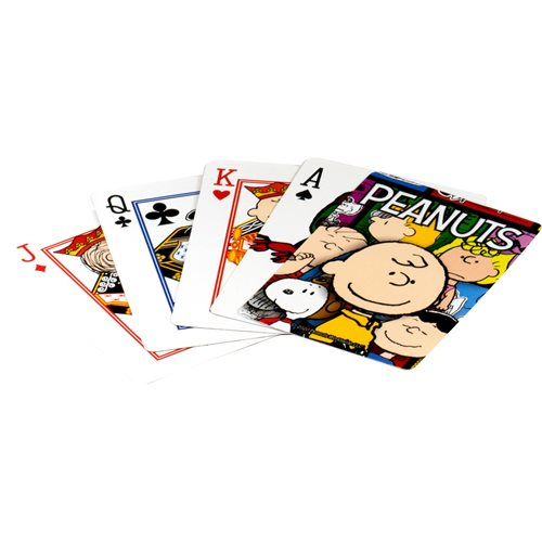 Peanuts Cast Playing Cards