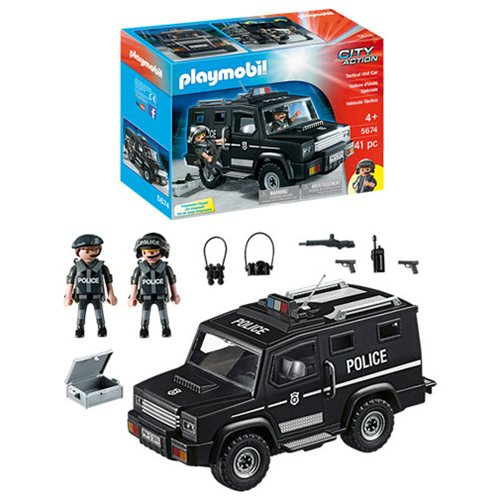 Playmobil 5674 Tactical Unit Police Car