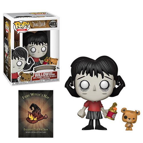 Don't Starve Willow with Bernie Pop! Vinyl Figure and Buddy #403