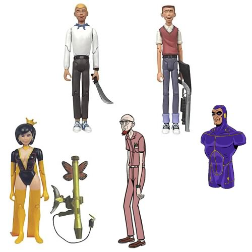 The Venture Bros. 3 3/4-Inch Figures Series 1 Revision 1