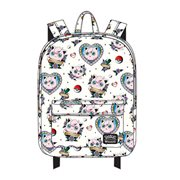 Pokemon Jigglypuff Tattoo Print Nylon Backpack